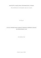 prikaz prve stranice dokumenta Utjecaj parametara hladnog prešanja sjemenke sikavice na proizvodnju ulja