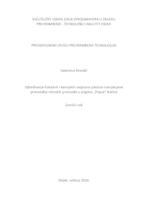 """prikaz prve stranice dokumenta Određivanje fizikalnih i kemijskih svojstava pšenice namijenjene proizvodnji mlinskih proizvoda u pogonu """"Papuk"""" Našice"""
