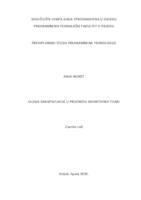 prikaz prve stranice dokumenta Uloga enkapsulacije u prijenosu bioaktivnih tvari