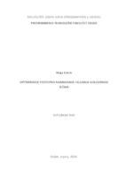 prikaz prve stranice dokumenta Optimiranje postupka namakanja i klijanja golozrnog ječma