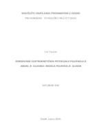 prikaz prve stranice dokumenta Određivanje elektrokinetičkog potencijala polifenola iz jabuke, beta-glukana i modela polifenol - beta-glukan