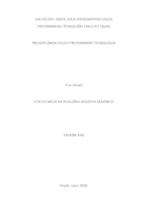 prikaz prve stranice dokumenta Utjecaj meda na reološka svojstva majoneze