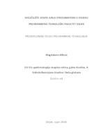 prikaz prve stranice dokumenta UV-Vis spektroskopija otopina rutina, galne kiseline, 4-hidroksibenzojeve kiseline i beta-glukana