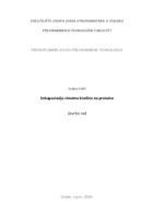 prikaz prve stranice dokumenta Enkapsulacija cimetne kiseline na proteine