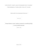 prikaz prve stranice dokumenta Primjena bakrove ionsko-selektivne elektrode za određivanje bakra u uzorku dodatka prehrane