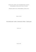 prikaz prve stranice dokumenta Polifenolne tvari u kakaovu zrnu i čokoladi