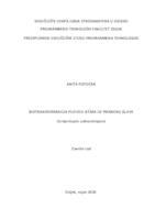 prikaz prve stranice dokumenta Biotransformacija pljevice ječma uz primjenu gljive Ceriporiopsis subvermispora