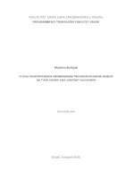 prikaz prve stranice dokumenta Utjecaj koncentriranja membranskim procesom reverzne osmoze na tvari arome vina Cabernet Sauvignon