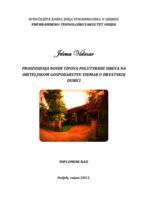 prikaz prve stranice dokumenta Proizvodnja novih tipova sireva na obiteljskom gospodarstvu Vidmar u Hrvatskoj Dubici