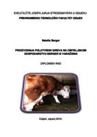prikaz prve stranice dokumenta Proizvodnja polutvrdih sireva na obiteljskom gospodarstvu Berger iz Varaždina