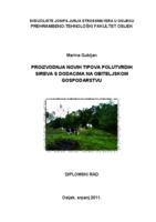 prikaz prve stranice dokumenta Proizvodnja novih tipova polutvrdih sireva s dodacima na obiteljskom gospodarstvu