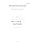 prikaz prve stranice dokumenta Flour - Bread '13 : Proceedings of the 7th International Congress Flour - Bread '13 and 9th Croatian Congress of Cereal Technologists